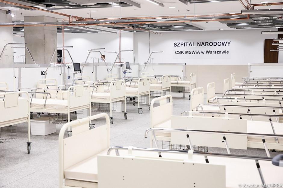 Szef Szpitala Narodowego: od tygodnia zwiększamy potencjał szpitala
