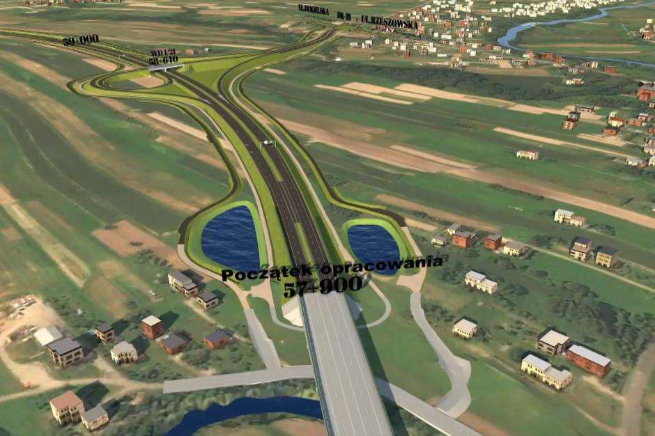 Podkarpackie: Gotowa koncepcja programowa dla S19 Iskrzynia-Miejsce Piastowe