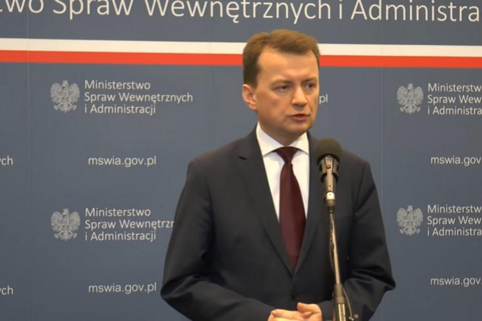 Szef MON: za szpitale tymczasowe w Warszawie, Krakowie i Ciechocinku odpowiada Wojsko Polskie