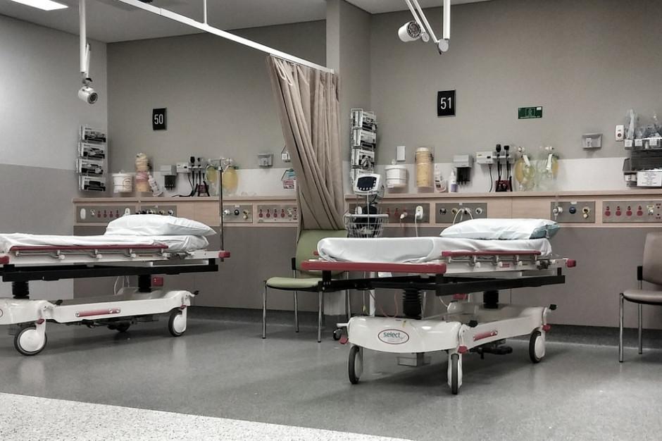 W szpitalach tymczasowych w Małopolsce ma być ponad tysiąc łóżek