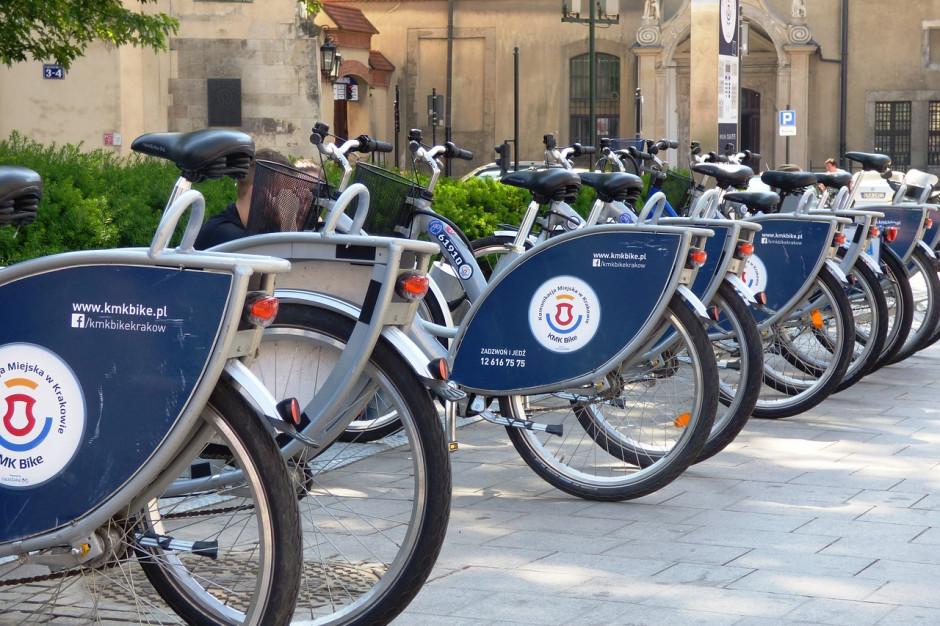 Kraków zbadał zmiany przyzwyczajeń transportowych. Jest więcej rowerów