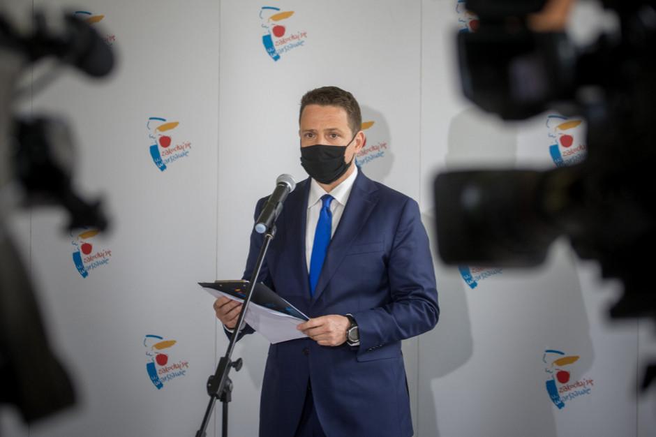 """Warszawa gotowa do przekazania 550 łóżek dla chorych na covid. """"Ale to już maksimum"""""""