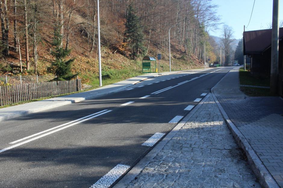 Wyremontowano drogę powiatową w Wiśle