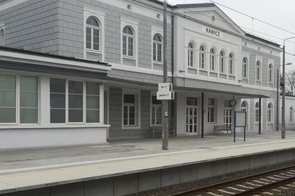 Nowe perony na stacji w Rawiczu