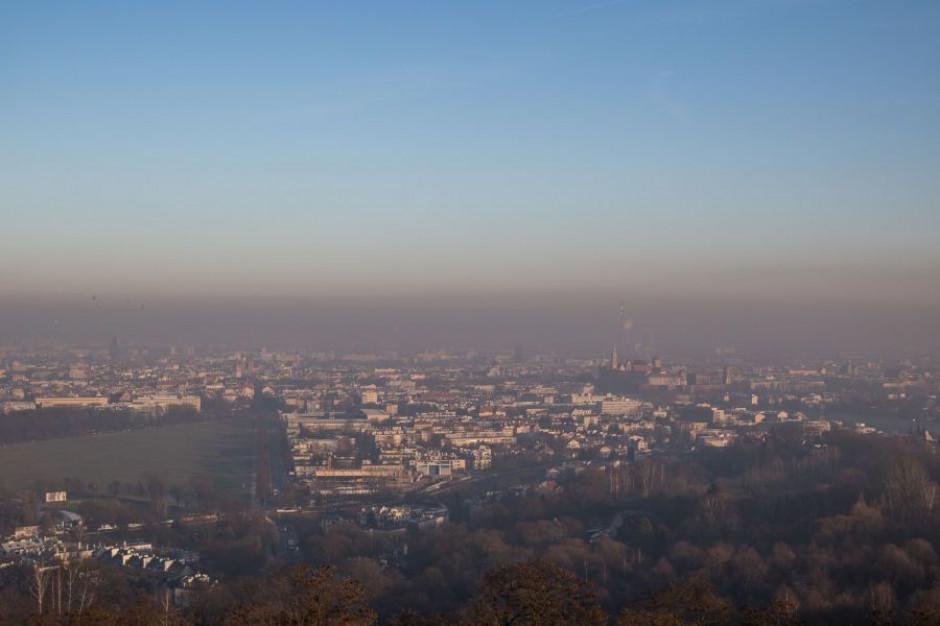 Kraków: IMGW ostrzega przed przekroczeniem norm zanieczyszczeń