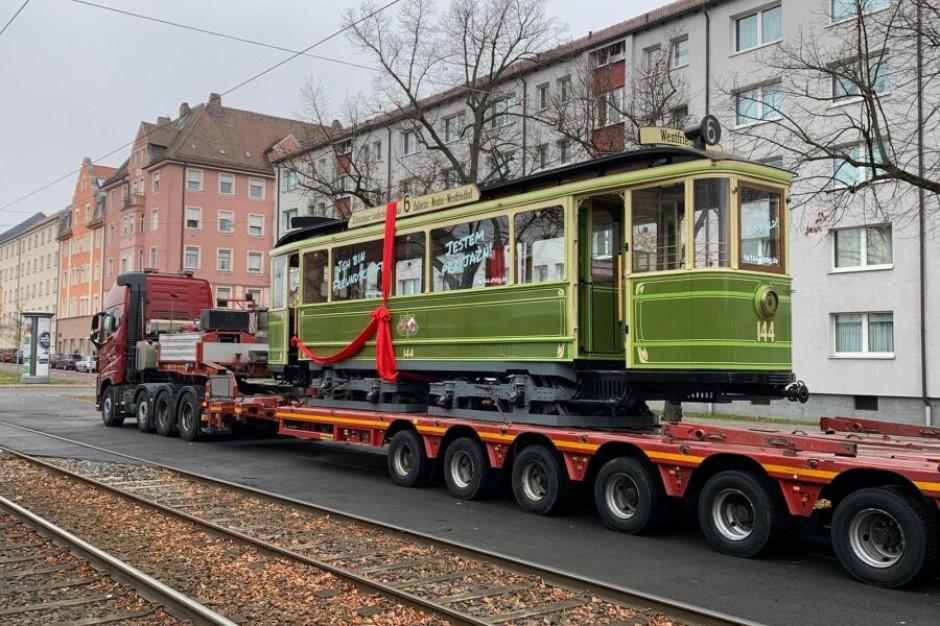 Kraków przywróci do ruchu zabytkowy tramwaj