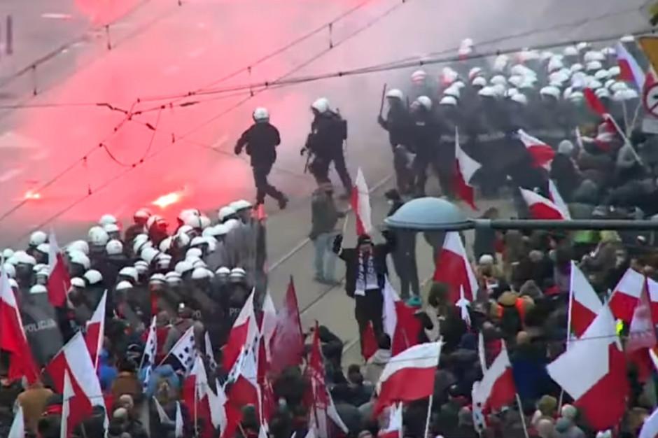 Koszty naprawy zniszczeń po Marszu Niepodległości to kilkadziesiąt tysięcy złotych