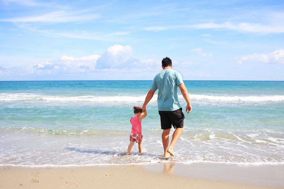 Mniej turystów nad morzem