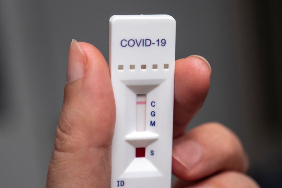 Ministerstwo Zdrowia kupiło 2 mln testów antygenowych za 21 zł netto za sztukę