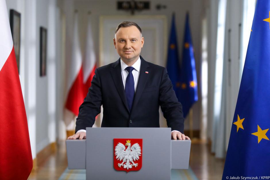 Prezydent popiera działania rządu w sprawie unijnego budżetu