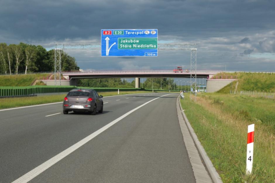 Ogłoszono przetarg na kolejny odcinek autostrady A2