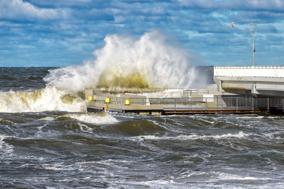 Ostrzeżenie o sztormie nad Bałtykiem