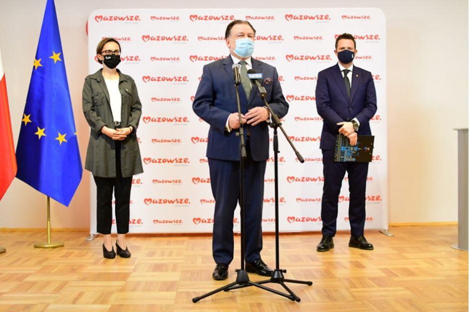Mazowsze w Polsce Wschodniej, stolica i 70 gmin poza wsparciem z RPO