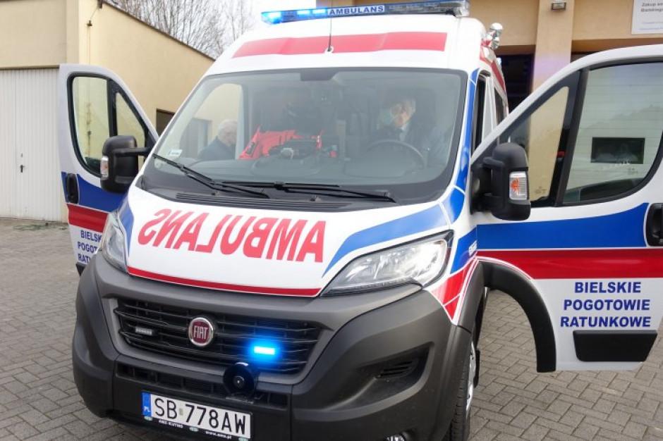 Bielskie pogotowie kupiło ambulans, który trafi do Jasienicy