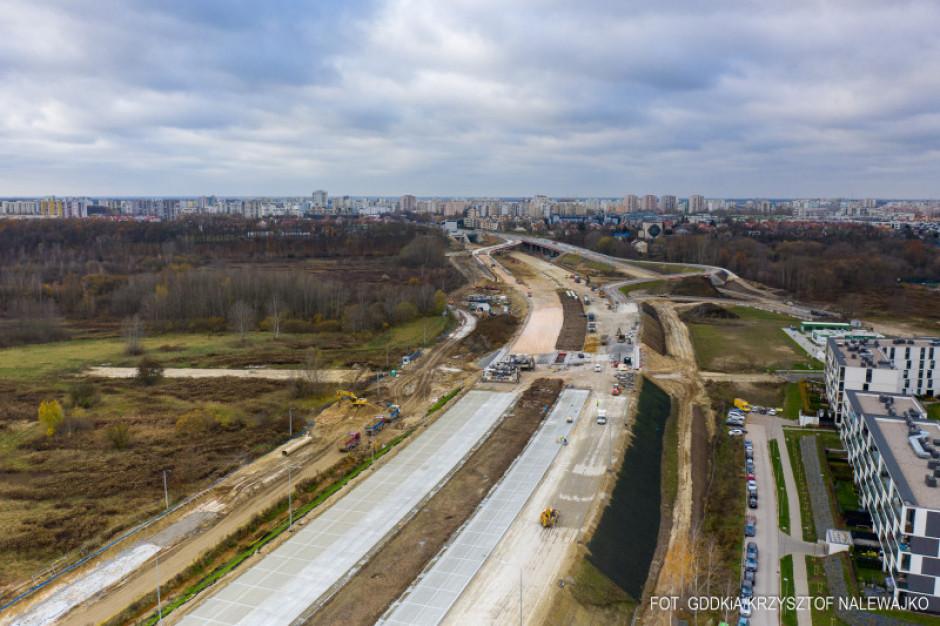 Fragment Południowej Obwodnicy Warszawy łącznie z mostem gotowy w tym roku
