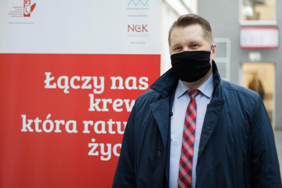 Przemysław Czarnek oddał osocze