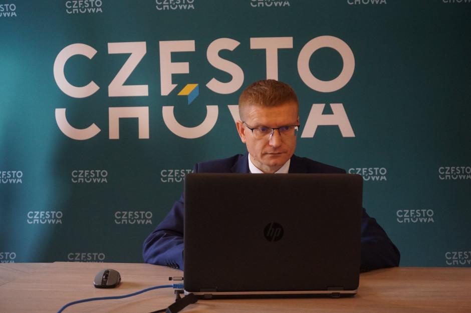 Prezydent Częstochowy chce przywrócenia wcześniejszego sposobu raportowania o zakażeniach