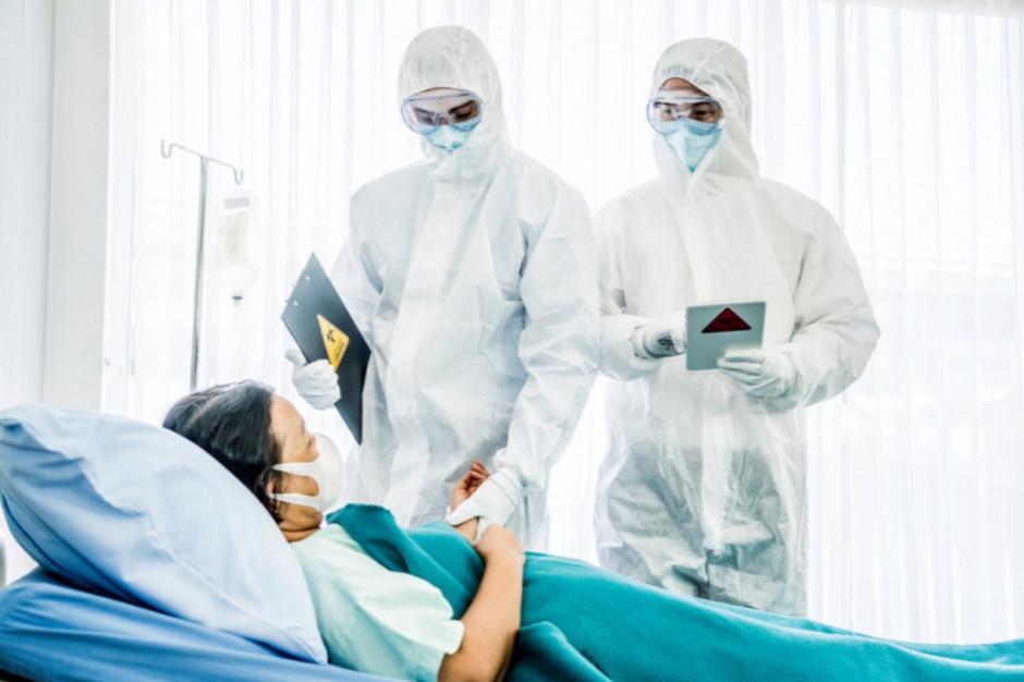 W regionach są wolne łóżka szpitalne dla pacjentów covidowych