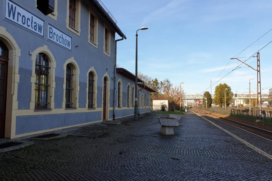 Przystanek PKP Wrocław Brochów zostanie przebudowany