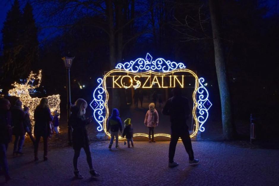 Koszalin wyda 164 tys. zł na świątecznee iluminacje