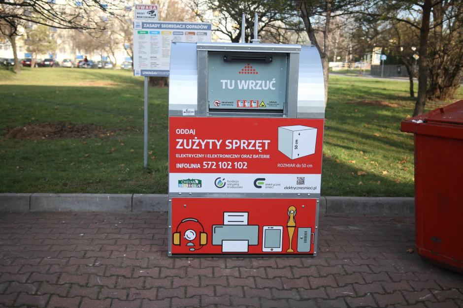 Czerwone pojemniki na elektroodpady staną na ulicach Chełma