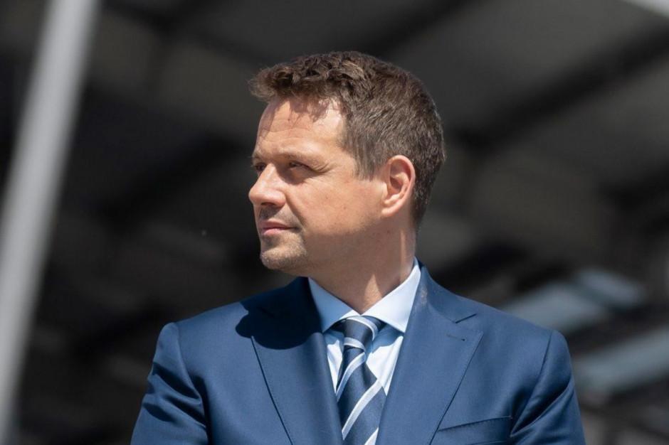 Trzaskowski: Apeluję by policja przestrzegała podstawowych zasad
