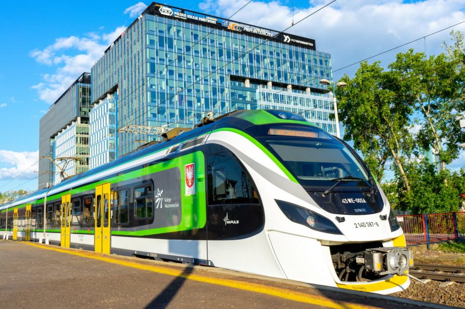 Koleje Mazowieckie odebrały dwa nowe pociągi