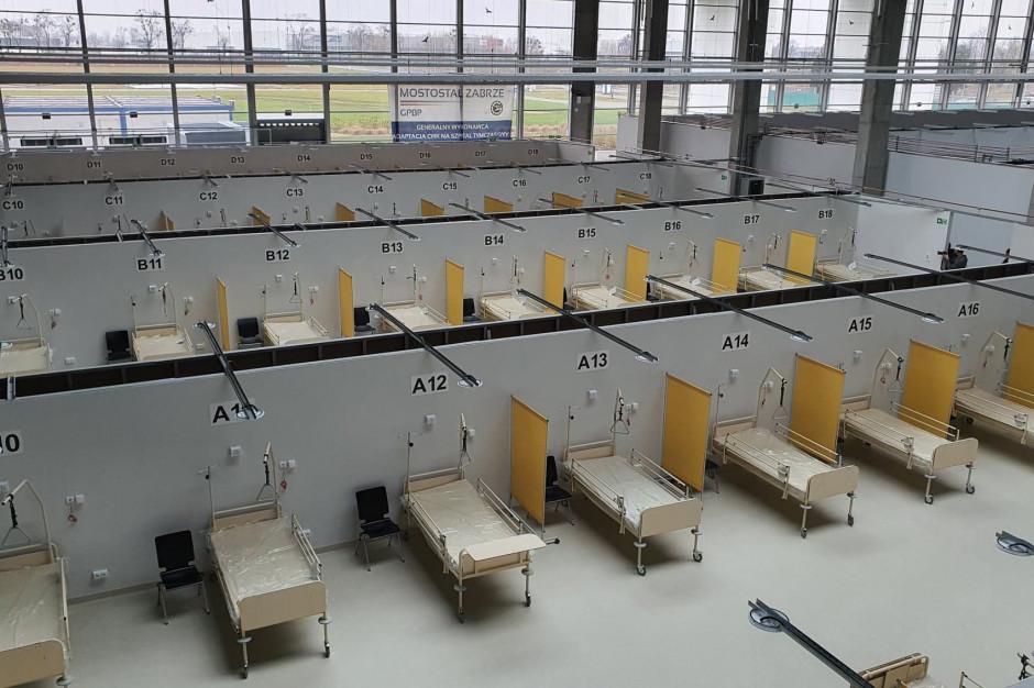 Szpital tymczasowy w Opolu gotowy. Czeka na doposażenie