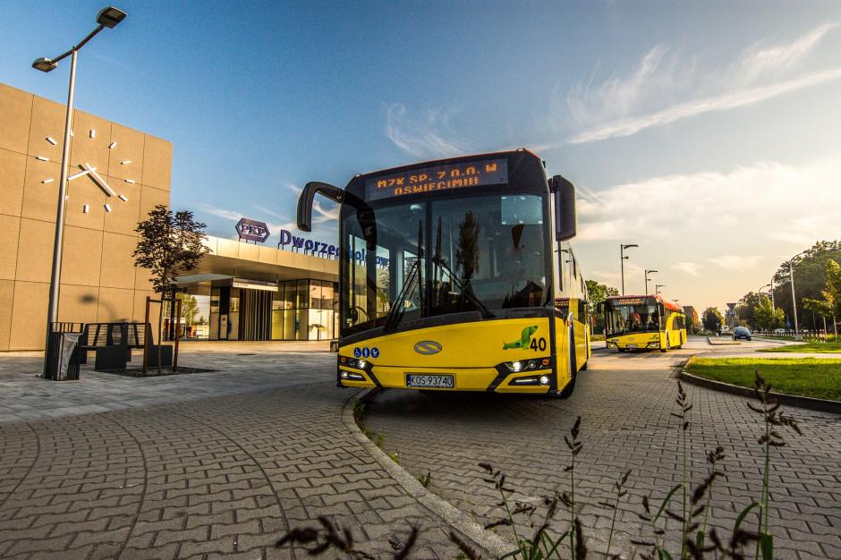 Elektryczny autobus wyjechał na ulice Oświęcimia