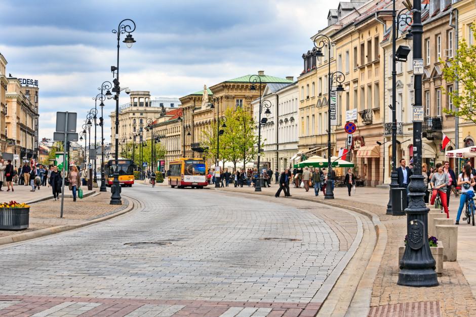Warszawa: Trakt Królewski znów będzie deptakiem
