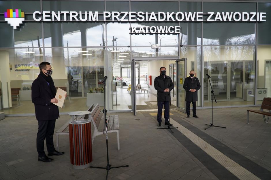 Katowice: Otwarto nowy węzeł przesiadkowy Zawodzie