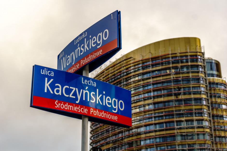 Stołeczni radni KO: to nie jest dobry moment na ulicę Lecha Kaczyńskiego