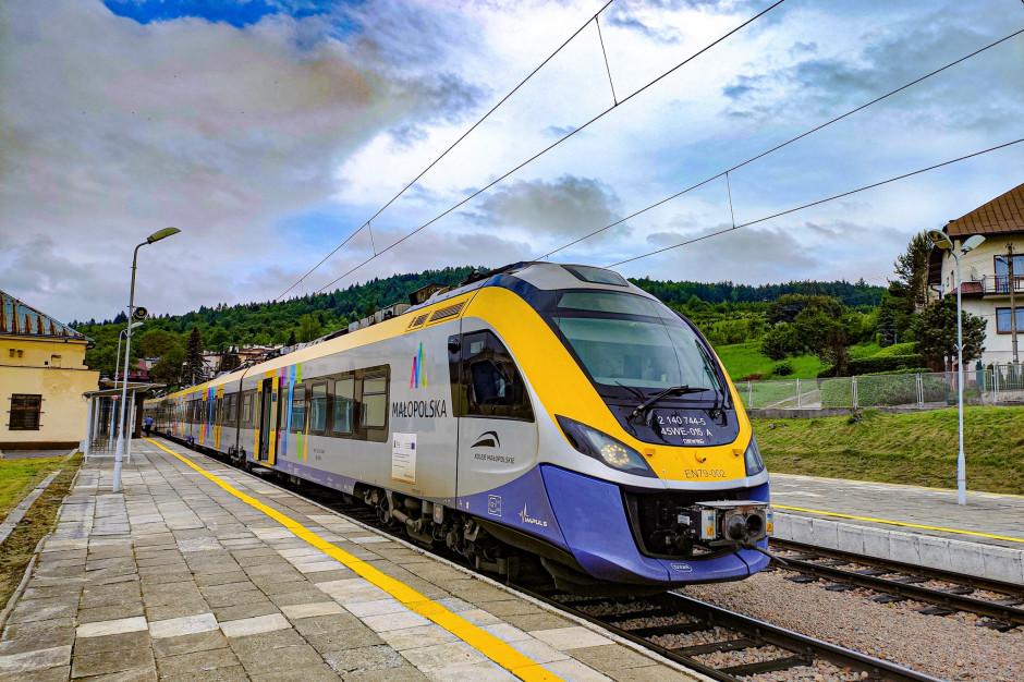 Koleje Małopolskie bez większych zmian w nowym rozkładzie jazdy