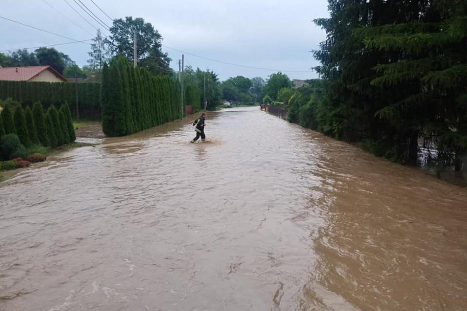 W gminie Markowa trwa naprawa zniszczeń po ulewach
