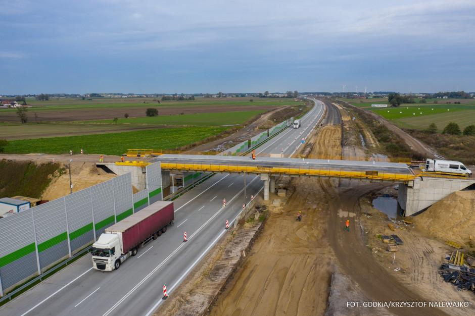 Po dwa pasy ruchu w każdą stronę na pierwszej nowej jezdni A1 w woj. śląskim
