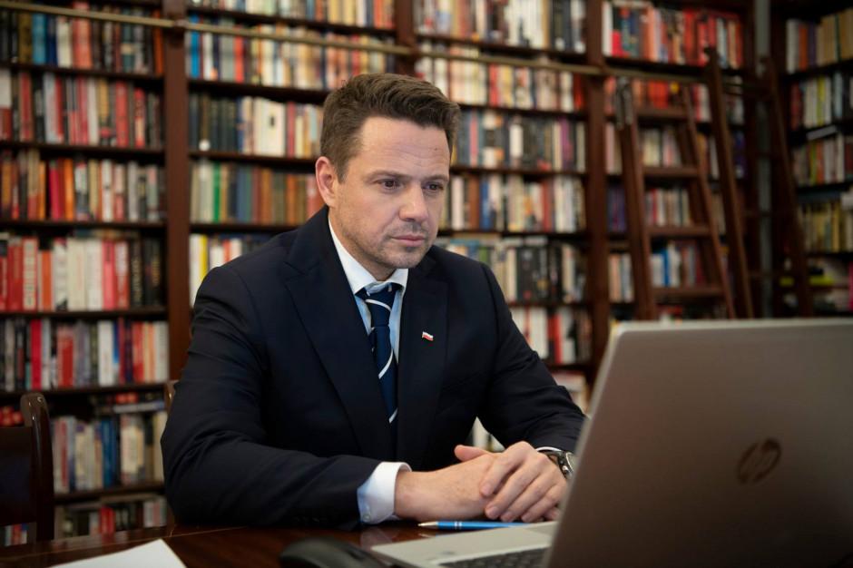 Rafał Trzaskowski: rząd chce wyłączyć metropolie z pomocy unijnej