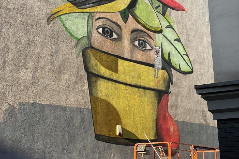 Katowice: Powstaje mural promujący cele zrównoważonego rozwoju przed Światowym Forum Miejskim