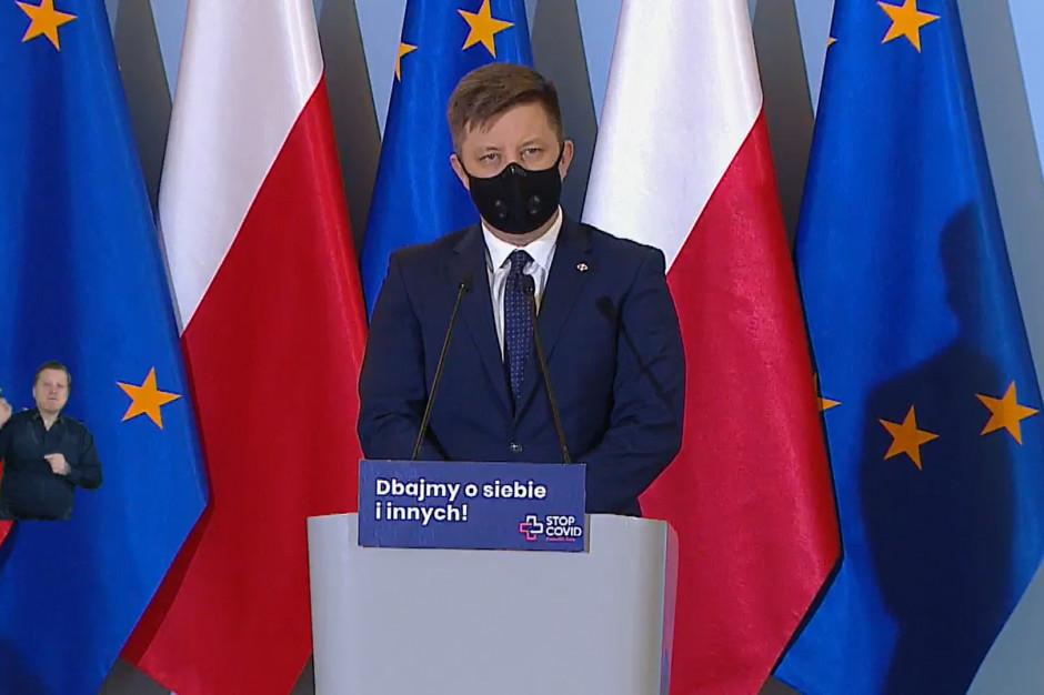Michał Dworczyk zapewnia, że przymusowych szczepień nie będzie