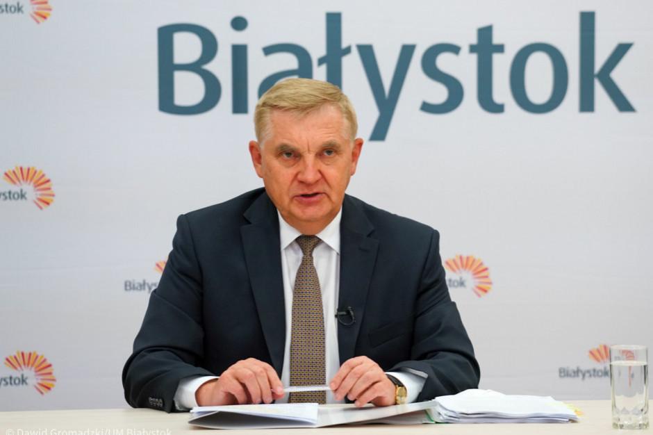 Prezydent Białegostoku w szpitalu z powodu COVID-19