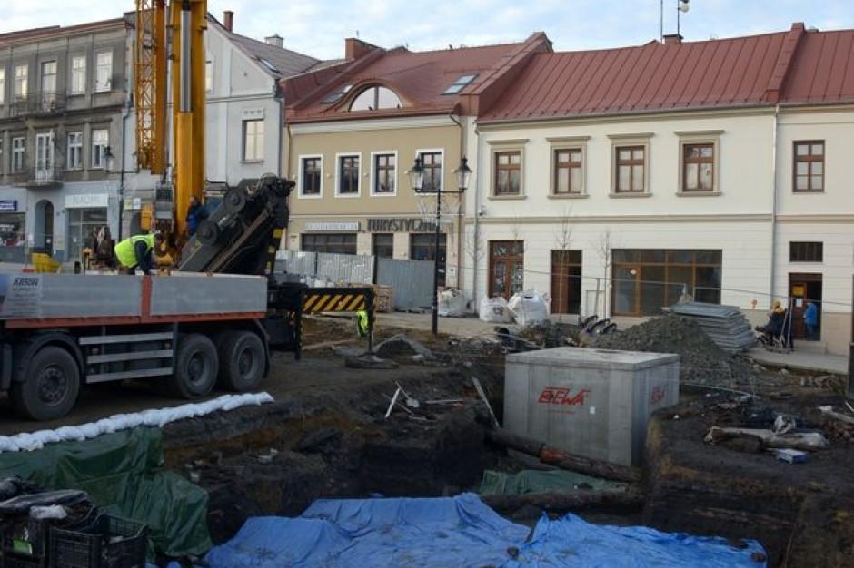 Dotacja na zabezpieczenie rynku w Bochni i wyrobisk zabytkowej kopalni