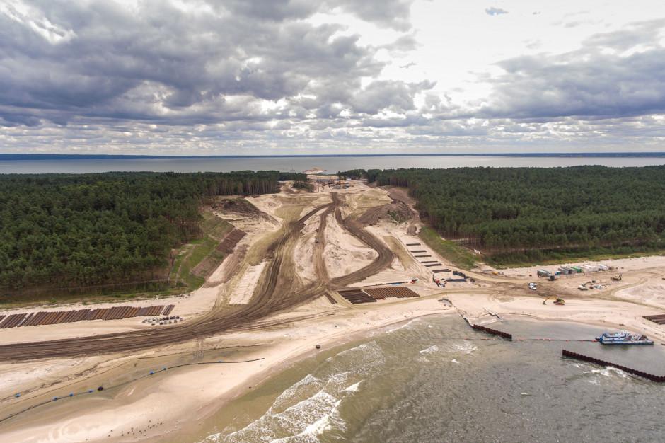 Rozstrzygnięto przetarg na budowę kanału przez Mierzeję Wiślaną