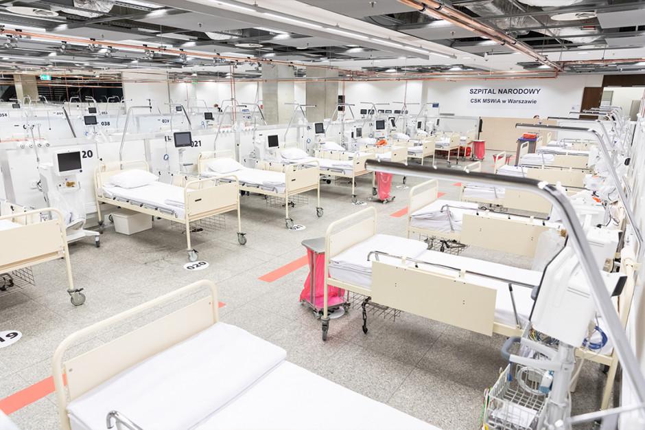 Nawet miliard złotych za szpitale tymczasowe