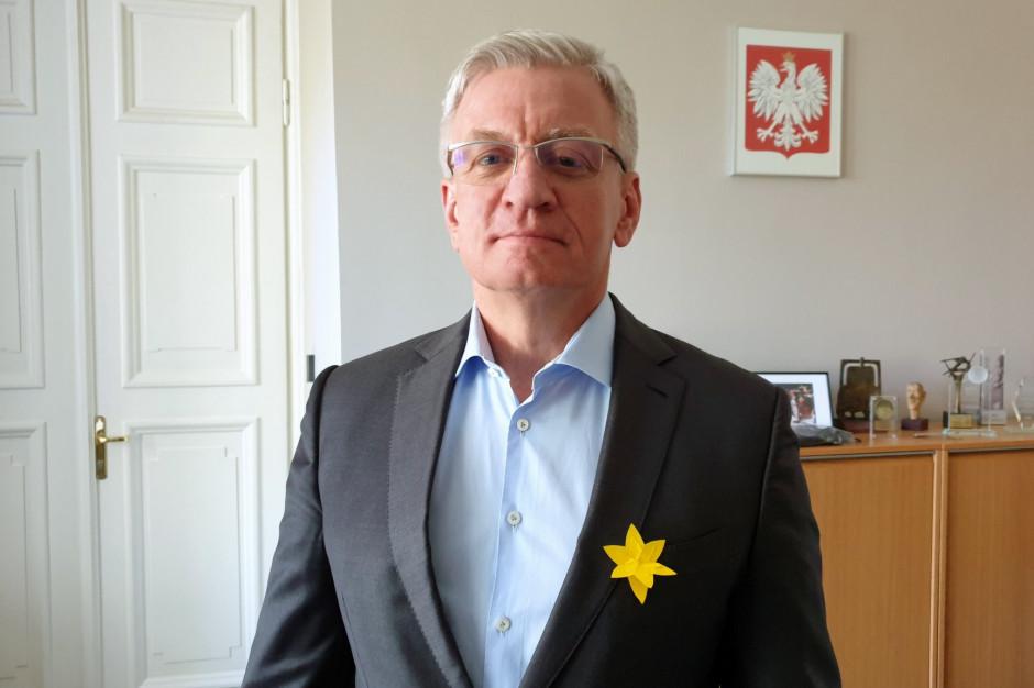 Prezydent Poznania wciąż broni zaszczepionych artystów