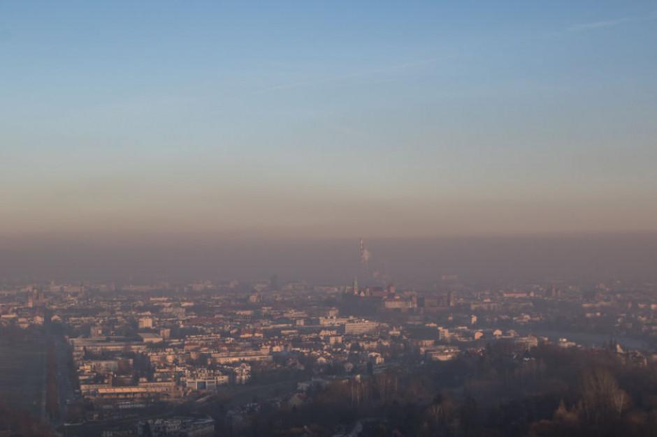 Coraz lepsze powietrze w Krakowie. Spada średnie stężenie pyłu PM10