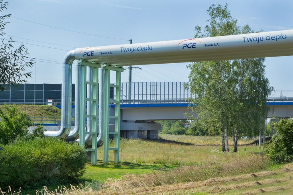 Zakończyła się budowa sieci ciepłowniczej w Toruniu