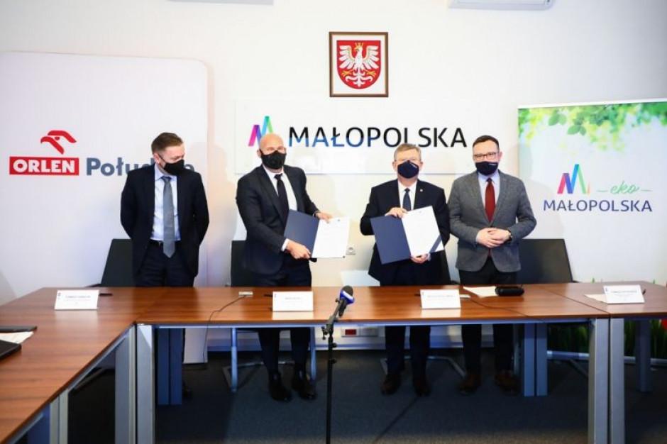 Województwo małopolskie i Orlen Południe przygotują projekty ws. transformacji energetycznej