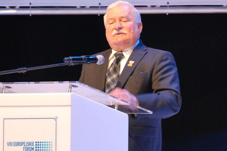 Lech Wałęsa pozostanie honorowym obywatelem Bielska-Białej