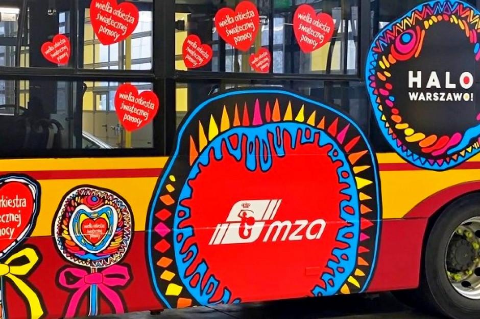 29 finał WOŚP. Miejskie Zakłady Autobusowe w Warszawie wystawiły na aukcję autobus