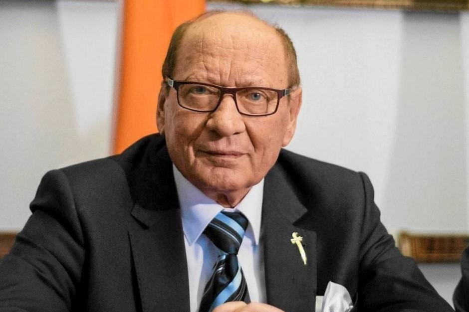 Rzeszów: Prezydent Tadeusz Ferenc ma koronawirusa