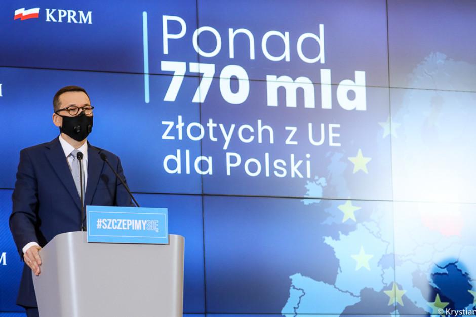 Premier przedstawił Umowę Partnerstwa. 350 mld zł na lata 2021-2027